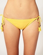 Juicy Couture Tassel String Bikini Pant