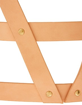 Image 3 ofASOS 3 Strap Pastel Harness Belt