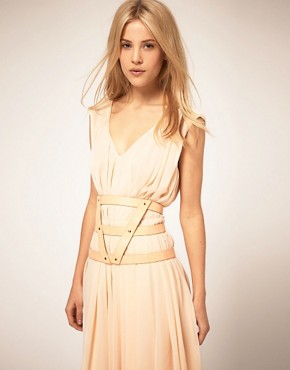 Image 1 ofASOS 3 Strap Pastel Harness Belt