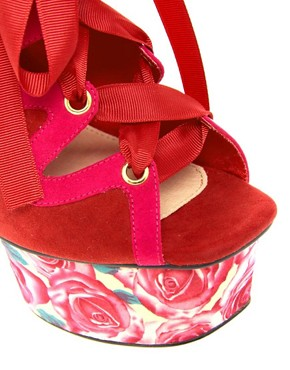 Image 3 ofASOS HUMMINGBIRD Platform Sandals