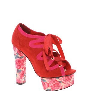 Image 1 ofASOS HUMMINGBIRD Platform Sandals