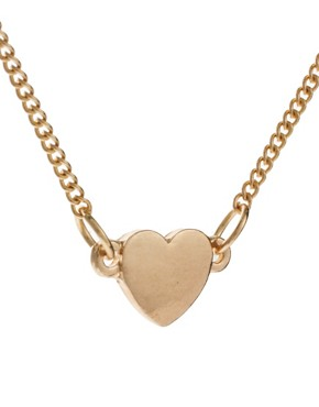 Image 4 ofASOS Love Heart Choker Necklace Pack