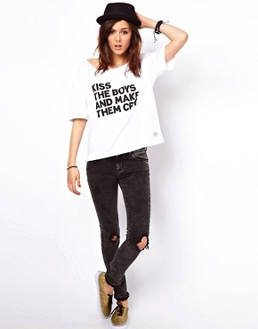 Image 4 ofA Question Of Kiss The Boys T-Shirt