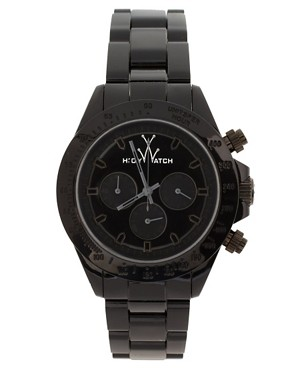 Bild 1 von Toy Watch  Unisex M008bk  Schwarze Uhr mit Kunststoffarmband