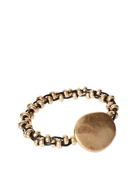 Image 1 ofLove Rocks Disc Detail Bracelet