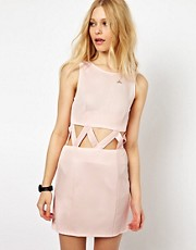 AX Paris Dress With Cut Out Waist