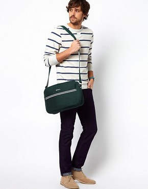 Image 3 ofBen Sherman Canvas Flight Bag