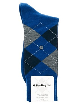 Image 3 ofBurlington Edinburgh Argyle Socks
