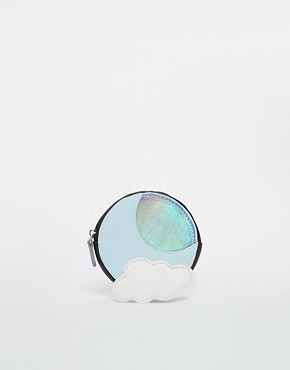 ASOS Cloud & Holographic Moon Coin Purse