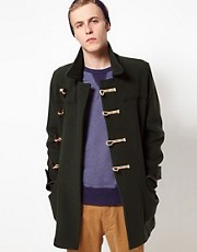 YMC For Gloverall Duffel Coat