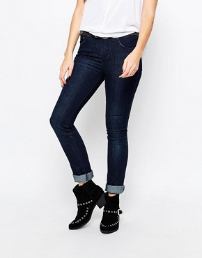 Free People Hi Rise Skinny Denim Jeans