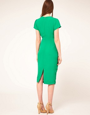 Image 2 ofASOS Midi Dress with Embellished Bugs