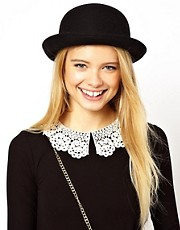 ASOS Roll Brim Felt Boater Hat