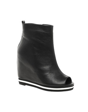 Image 1 ofASOS ATHLETE Wedge Ankle Boots