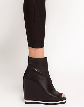 Image 3 ofASOS ATHLETE Wedge Ankle Boots