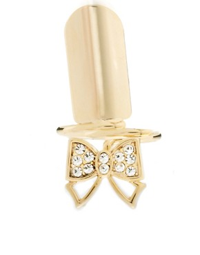 Image 2 ofLimited Edition Finger Tip Bow Ring