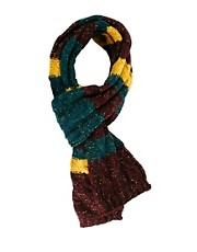 ASOS Stripe Cable Scarf