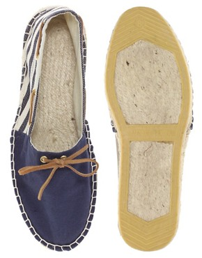 Image 3 ofASOS Striped Boat Espadrilles