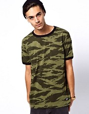 Stussy T-Shirt Jungle River Camo