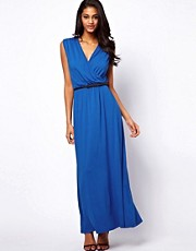 ASOS Maxi Dress With Wrap Front