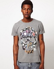 Joystick Junkies Skull T-Shirt