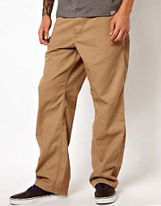 Chinos sencillos de corte holgado de Carhartt