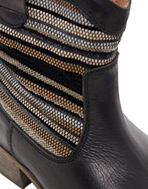 Image 2 ofBertie Pentra Woven Western Boots