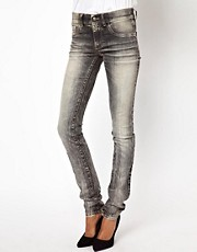 Diesel Livier Marbled Skinny Jeans
