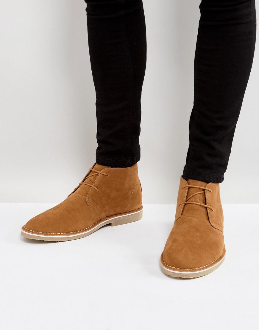 Desert Boots Imitation Daim  Fauve  Fauve
