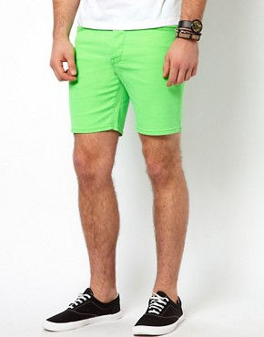 Image 1 ofASOS Shorts In Fluro