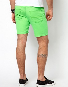 Image 2 ofASOS Shorts In Fluro