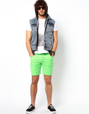 Image 4 ofASOS Shorts In Fluro