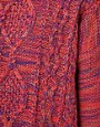 Image 3 ofVila Knitted Jumper in Multi Coloured Cable