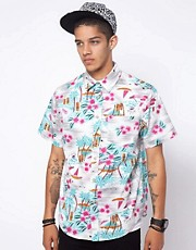 Mishka Wowie Hawaiian Short Sleeve Shirt