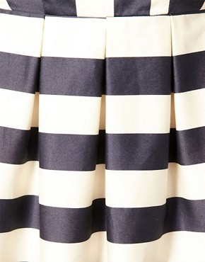 Image 3 ofASOS Peter Pan Dress in Stripe Print