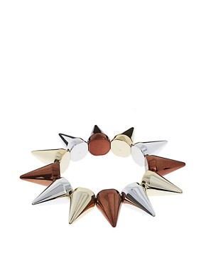 Image 1 ofLimited Edition Mega Spike Stretch Bracelet