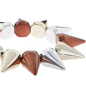 Image 3 ofLimited Edition Mega Spike Stretch Bracelet
