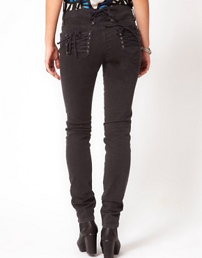 Image 2 ofSass &amp; Bide Bang Bang Lace Up Front Jeans