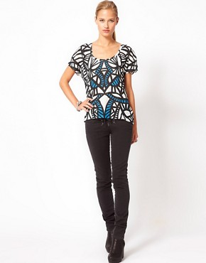 Image 4 ofSass &amp; Bide Bang Bang Lace Up Front Jeans