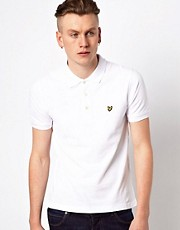Polo con logo de guila de Lyle & Scott Vintage