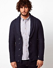 Superdry Shawl Quilted Cardigan