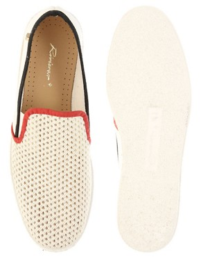 Image 3 ofRivieras Hot Roads Tricolour Slip-On Shoes