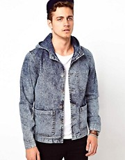 ASOS Denim Hooded Jacket
