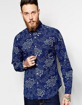 Gant Rugger Shirt with Floral Print