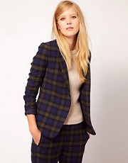 NW3 Checked Blazer Jacket