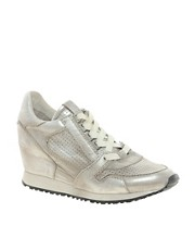Ash Dean Metal Wedge Trainers