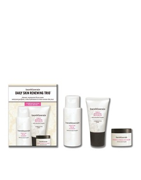 Image 1 ofbareMinerals Daily Skin Renewing Trio