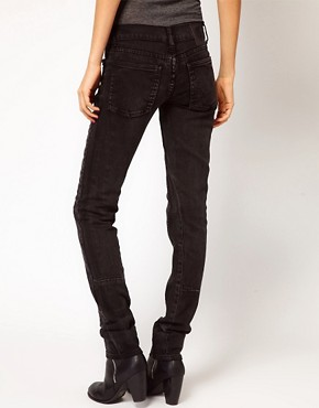 Image 2 ofCheap Monday Skinny Jeans With Seam Detail