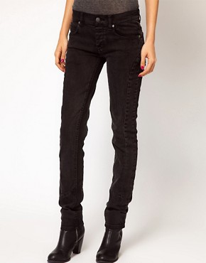 Image 1 ofCheap Monday Skinny Jeans With Seam Detail
