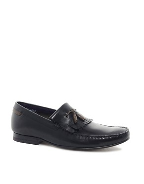 Image 1 ofTed Baker Tephra Leather Loafers
